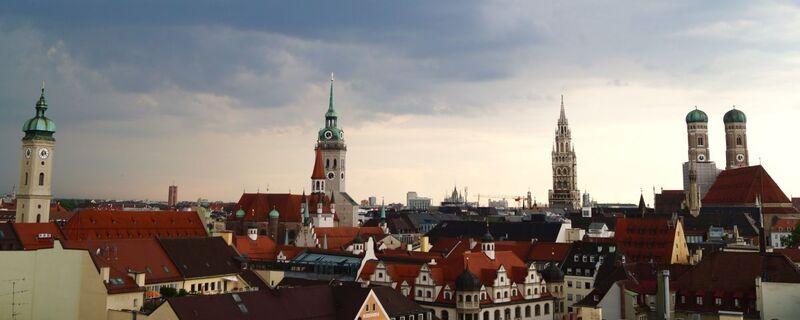 Ausblick über München, © Ein Panorama über München - Foto:  Dirk Schiff/Portraitiert.de