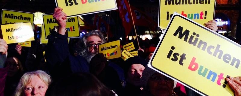 © Symbolfoto einer Demo in München