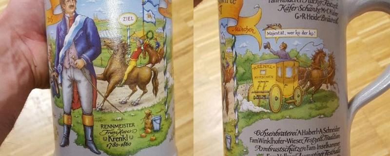 Oktoberfest 2015 - Das ist der Steinkrug der Wirte, © Krug der Wiesnwirte 2015