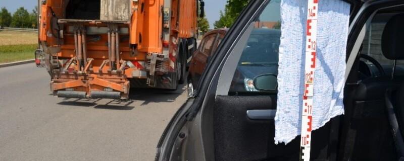 LKW Unfall Kirchheim polizeifoto, © Tragischer Unfall in Kirchheim: Einsatzfoto der Münchner Polizei