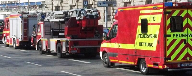 Die Feuerwehr im Einsatz, © Symbolfoto