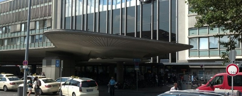 Eingang des Münchner Hauptbahnhofs