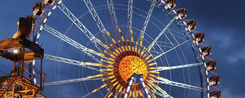 Das Riesenrad auf dem Oktoberfest, © Das Riesenrad auf dem Oktoberfest - Foto:  Dirk Schiff/Portraitiert.de