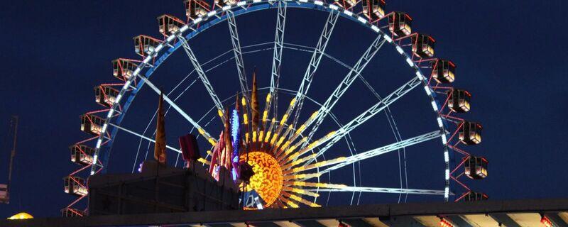 Das Riesenrad auf dem Oktoberfest, © Das Riesnrad  - Foto:  Dirk Schiff/Portraitiert.de