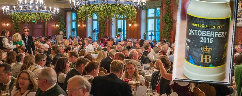 Oktoberfest 2015: Vorstellung des Hofbräu Wiesn-Maßkrugs