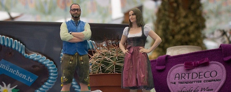 Marion und Alex zur Wiesn Vorwoche zum Oktoberfest 2015