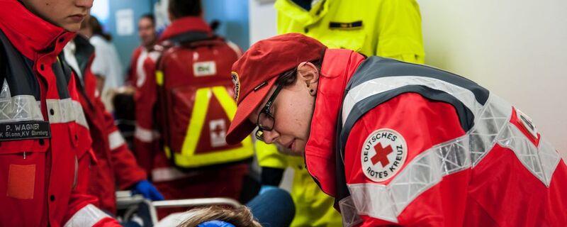 © Das Rote Kreuz versorgt während der Wiesn bis zu 10.000 Patienten. Foto: Milan Szypura