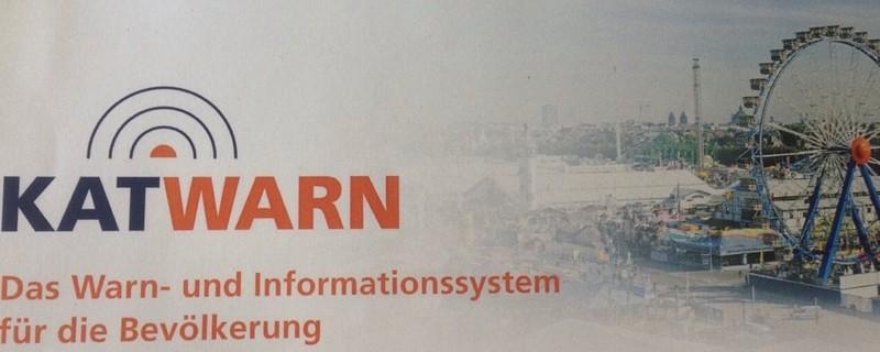 Informationsapp KATWARN, © Landeshauptstadt München