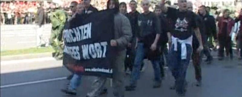 Aufmarsch einer anderen Nazi-Gruppierung, © Archivbild eines Aufmarsches