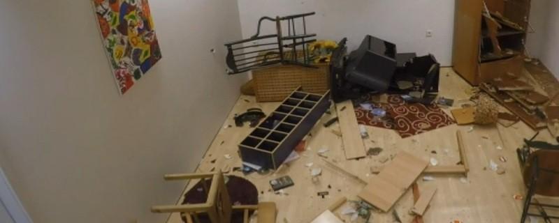 © Symbolfoto eines verwüsteten Zimmers