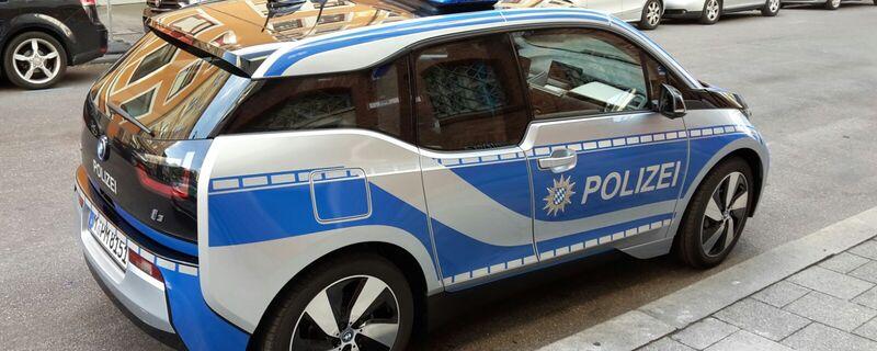 elektro i3 auto polizei muenchen, © Ökologische Verbrecherjagd - Der neue Testwagen der Münchner Polizei
