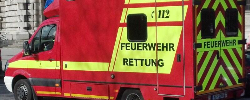Die Feuerwehr Rettung im Einsatz., © Symbolfoto
