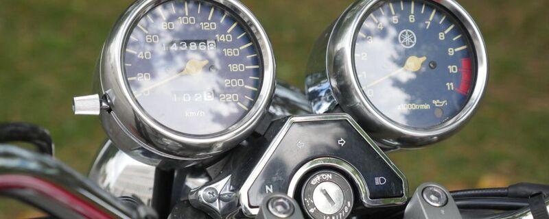 Amaturen vom Motorrad, © Amaturen vom Motorrad