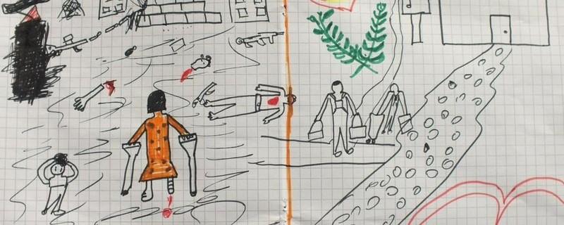 Bundespolizei: Bild eines Flüchtlingskindes, © Bundespolizei: Bild eines Flüchtlingskindes