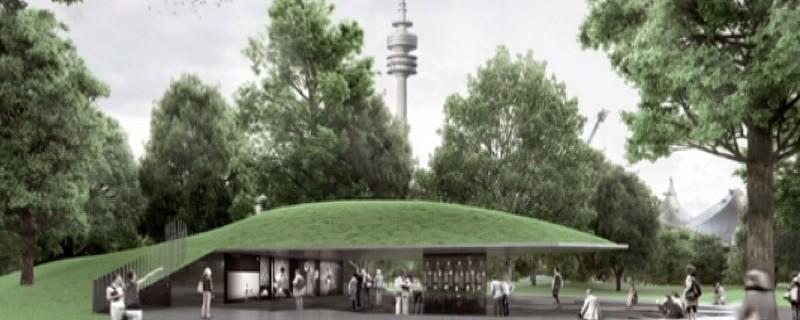 So soll das Denkmal für das grausame Olympia-Attentat aussehen, © Entwurf der Brückner & Brückner Architekten