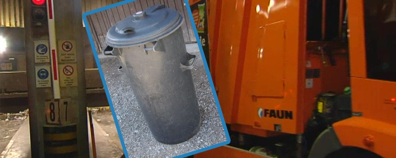 Mülltonne, © Foto der Mülltonne: WGV Quarzbichl