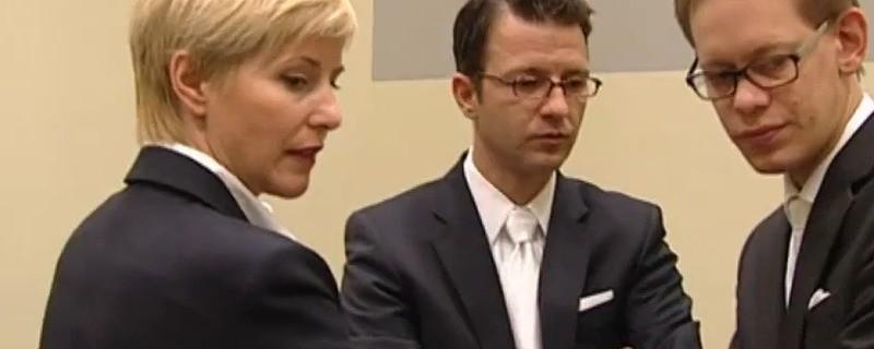 Beate Zschäpes Anwälte im Gericht, © Anwälte von Beate Zschäpe beantragen erneut Entlassung
