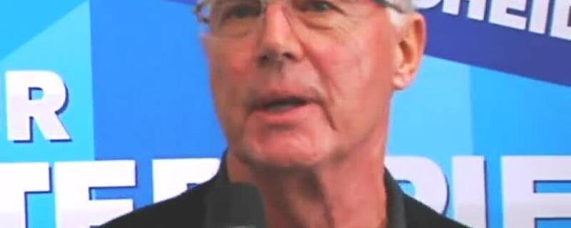 Franz Beckenbauer, © Franz Beckenbauer gerät zunehmend in Erklärungsnot