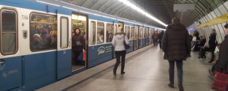 U Bahn Odeonsplatz