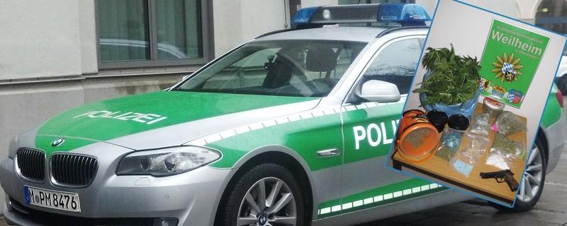Polizei findet Drogen, © Foto: Polizei