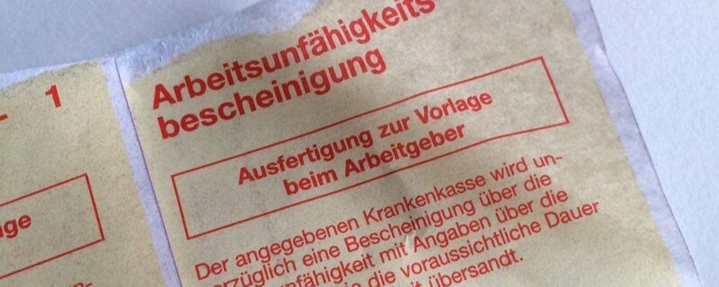 Arbeitsunfähigkeitsbescheinigung Teilkrankschreibungen in Deutschland