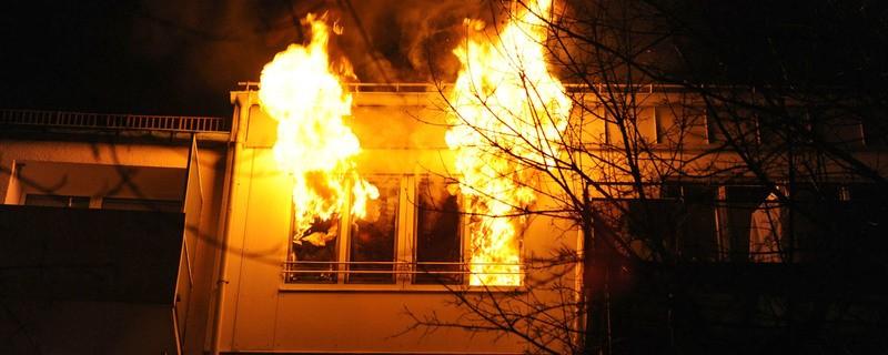Wohnungsbrand mit Todesfolge in Garching, © Symbolfoto.