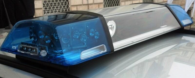 Blaulicht der Münchner Polizei, © In der Ludwigsvorstadt wurde ein Porsche vor einer Bäckerei geklaut