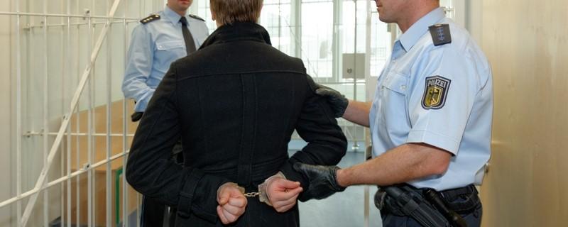Festnahme durch die Bundespolizei, © Symbolfoto