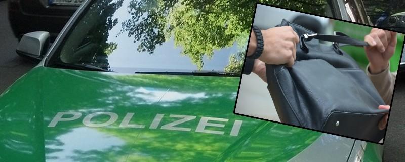 Handtaschenraub Diebstahl Polizei, © Symbolfoto.