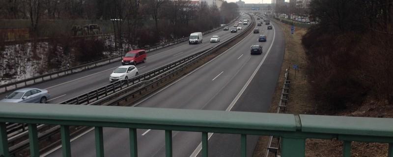 Autobahnbrücke - Domagkbrücke in München