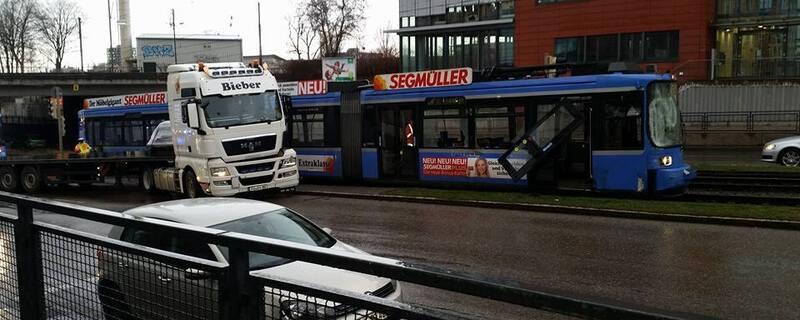 tram unfall landsbergerstrasse, © Foto: Cemo Thedestroyer