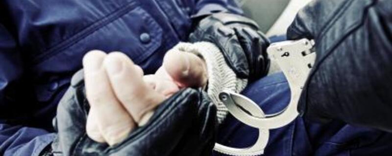 Festnahme, Handschellen, Bundespolizei, © Foto: Bundespolizei