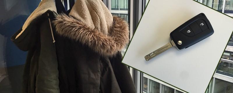 Autoschlüssel in Jackentasche, © Symbolbild.