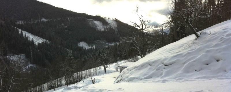 Schnee Winter Berg, © Symbolfoto.