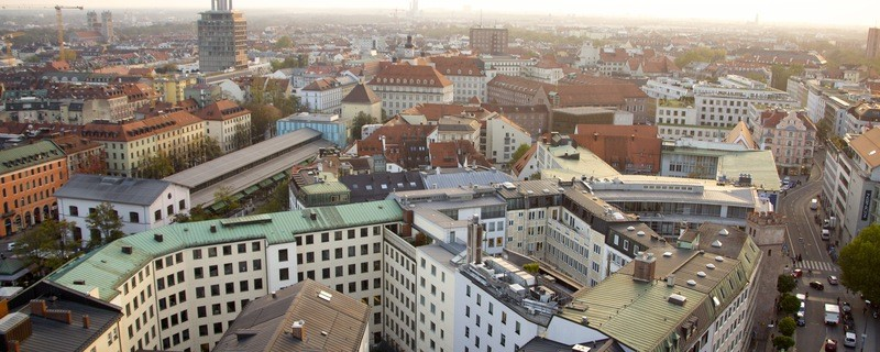 München aus der Vogelperspektive, © Foto: Archiv