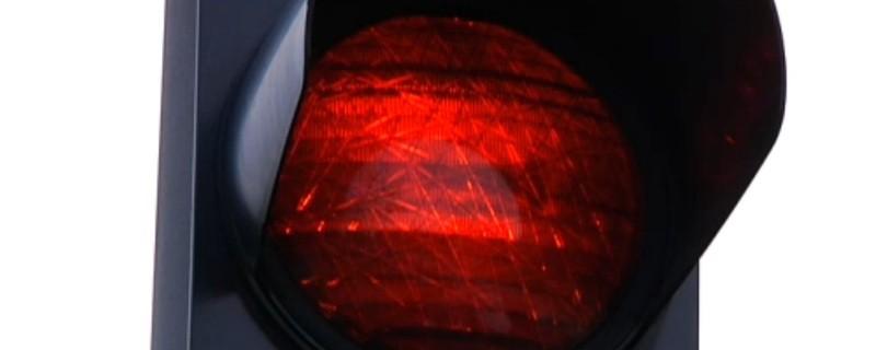 Rote Ampel Unfall, © Symbolbild.