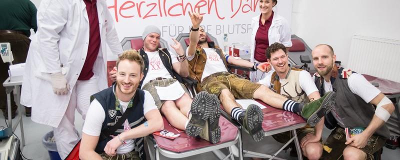 Blutspende voXXclub, © Fotos: Blutspendedienst des BRK