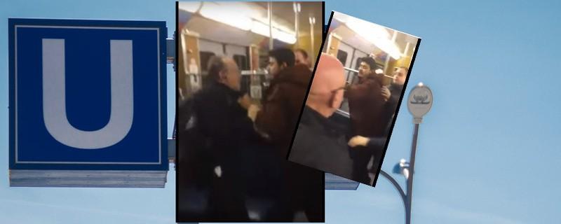 U-Bahn Video Pöbeleien im Zug