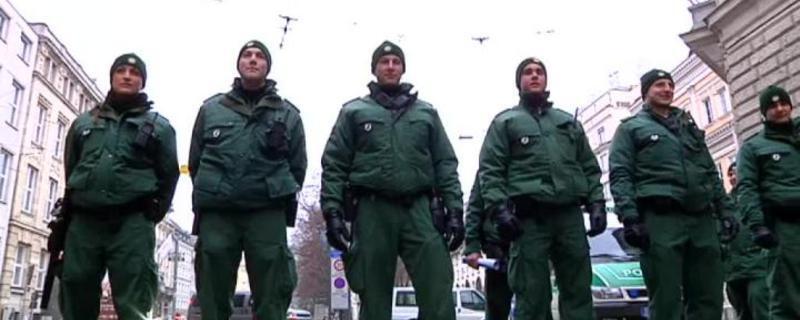 polizisten sicherheitskonferenz muenchen
