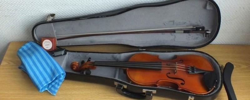 Die Bundespolizei fand die Geige bei einer Hausdurchsuchung wieder, © Foto: Bundespolizei