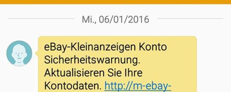 Ebay: Pishing Mails sorgen für Ärger, © Symbolbild Polizei