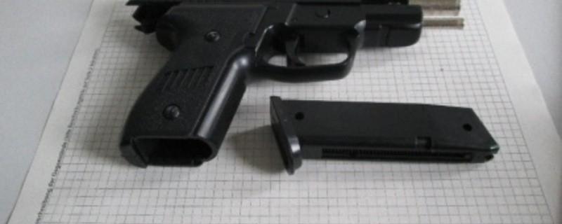 Waffe Schuss, © Polizei München