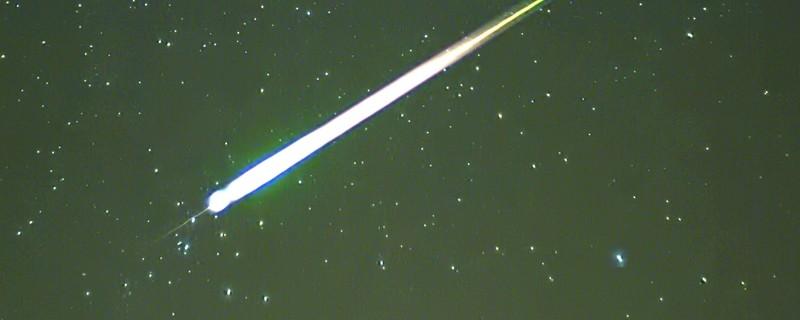 Meteor oder Sternschnuppe? Viele besorgte Menschen aus Süddeutschland meldeten sich bei der Polizei