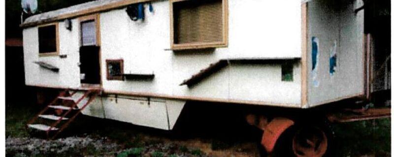 Gestohlener Zirkuswagen, © Polizei