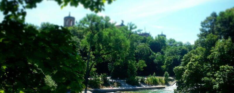 Isar in München- Ausblick, © München bekommt einen kleinen Vorgeschmack auf den Sommer