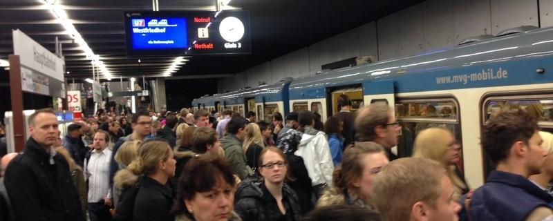 © Das Münchner Verkehrsnetz wird am Samstag enormen Belastungen ausgesetzt sein