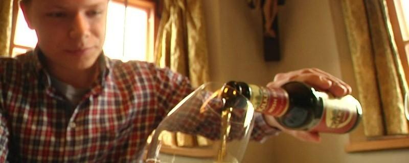 Der jüngste Biersommelier der Welt schenkt ein