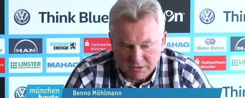 1860-Trainer Benno Möhlmann spricht