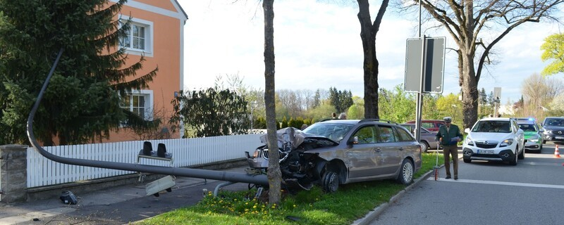 © Aufgrund seiner Erkrankung verursachte ein 42-Jähriger einen Unfall.