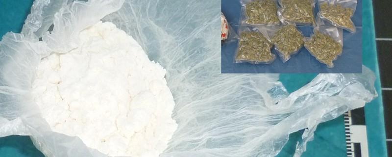 Sicher gestelltes Kokain und Marihuana in Tüten , © Symbolbild
